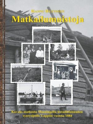 cover image of Matkailumuistoja
