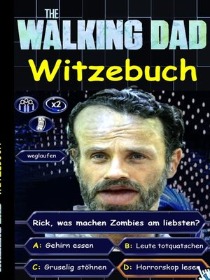 cover image of 'The Walking Dad' (Witzebuch); Inoffizielles the Walking Dead Buch