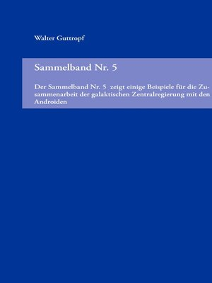 cover image of Sammelband Nr. 5