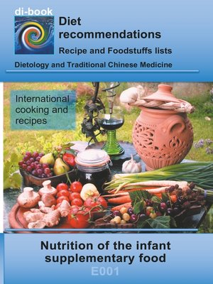 cover image of Nutrition of the infant--supplementary food