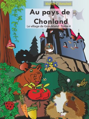 cover image of Au pays de Chonland, le village de Grouikland