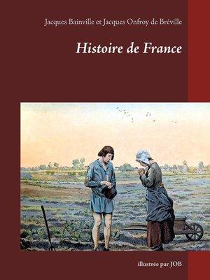 cover image of Histoire de France