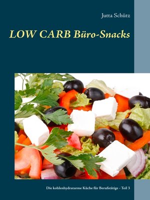 cover image of Low Carb Büro-Snacks