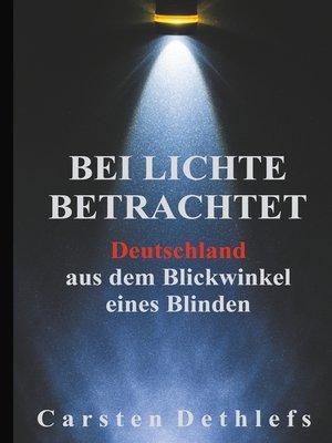 cover image of Bei Lichte betrachtet