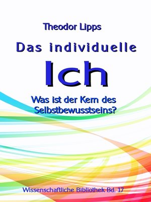 cover image of Das individuelle Ich