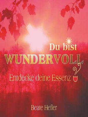 cover image of Du bist wundervoll