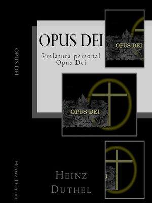 cover image of Opus Dei--iglesia dentro de la Iglesia