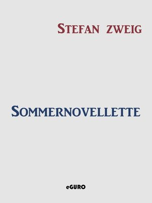 cover image of Sommernovellette
