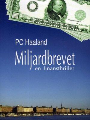 cover image of Miljardbrevet