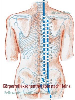 cover image of Körperreflexzonentherapie nach Heinz