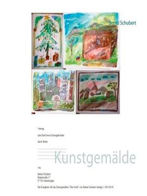 cover image of Kunstgemälde