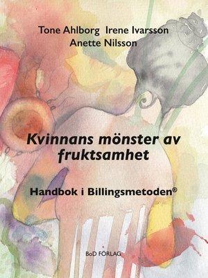 cover image of Kvinnans mönster av fruktsamhet