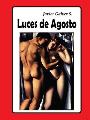 cover image of Luces de agosto
