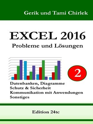 cover image of Excel 2016 . Probleme und Lösungen . Band 2