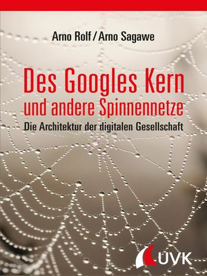 cover image of Des Googles Kern und andere Spinnennetze