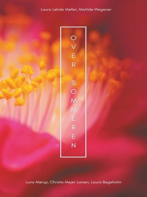 cover image of Over sommeren