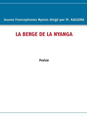 cover image of La berge de la nyanga