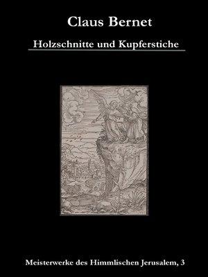 cover image of Holzschnitte und Kupferstiche