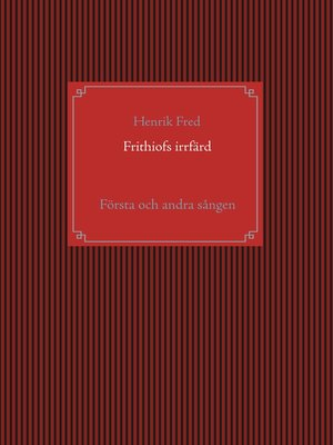 cover image of Frithiofs irrfärd