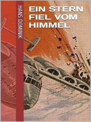 cover image of Ein Stern fiel vom Himmel
