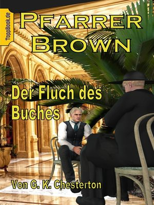 cover image of Pfarrer Brown-- Der Fluch des Buches