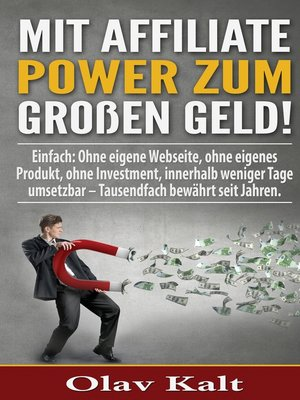 cover image of Mit Affiliate-Power zum grossen Geld!