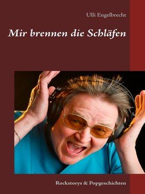 cover image of Mir brennen die Schläfen