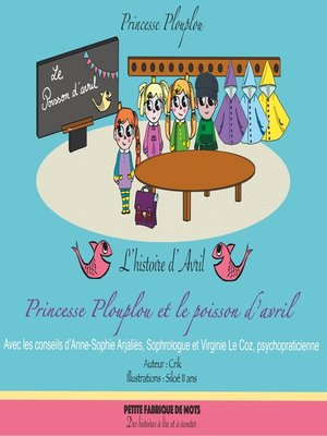 cover image of Princesse Plouplou et le poisson d'avril