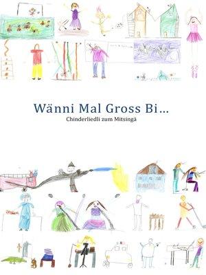 cover image of Wänni Mal Gross Bi...