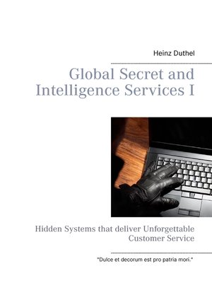 cover image of Global Secret and Intelligence Services I