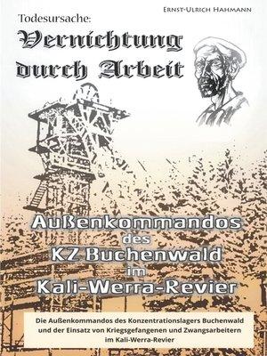cover image of Todesursache--Vernichtung durch Arbeit