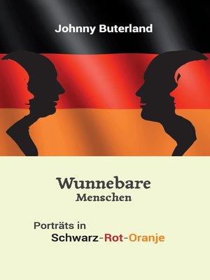 cover image of Wunnebare Menschen
