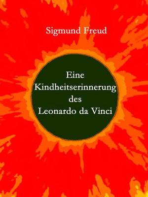 cover image of Eine Kindheitserinnerung des Leonardo da Vinci