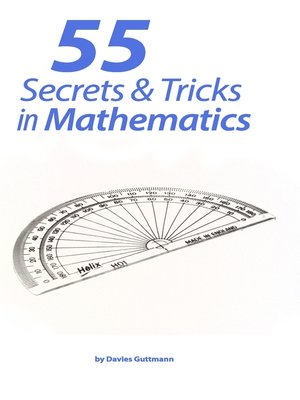 cover image of 55 Secrets & Tricks of Mathematics