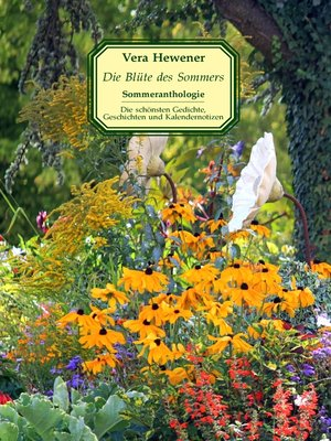 cover image of Die Blüte des Sommers