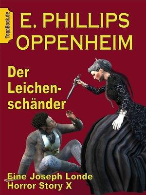 cover image of Der Leichenschänder