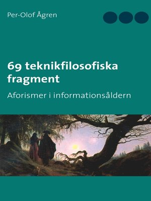 cover image of 69 teknikfilosofiska fragment