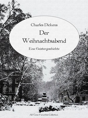 cover image of Der Weihnachtsabend