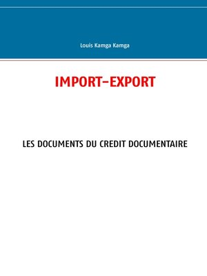 cover image of Import--Export