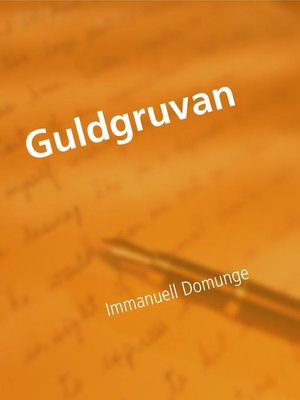 cover image of Guldgruvan