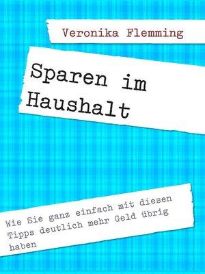 cover image of Sparen im Haushalt