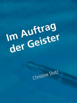 cover image of Im Auftrag der Geister
