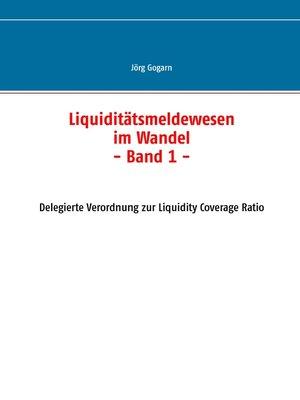 cover image of Liquiditätsmeldewesen im Wandel