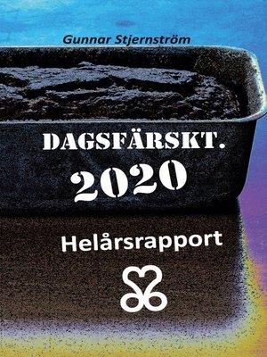cover image of Dagsfärskt 2020/366