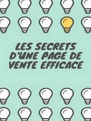 cover image of les secrets d'une page de vente
