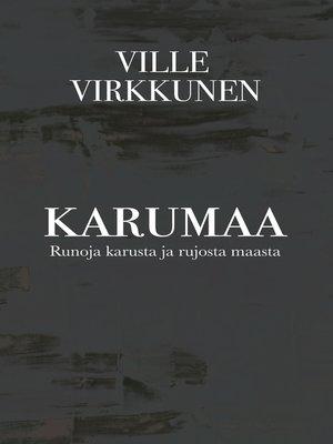 cover image of Karumaa