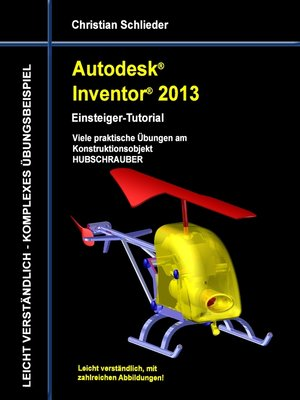 cover image of Autodesk Inventor 2013--Einsteiger-Tutorial