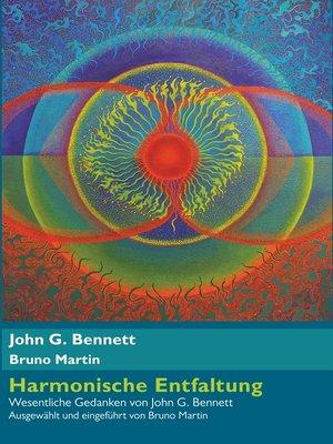 cover image of Harmonische Entfaltung
