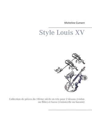 cover image of Style Louis XV