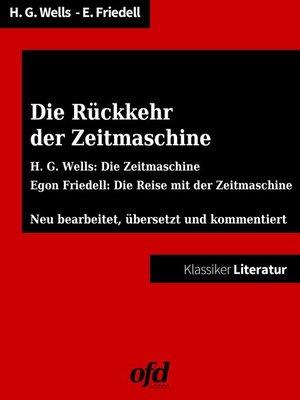 cover image of Die Rückkehr der Zeitmaschine